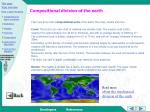compositional division of the earth