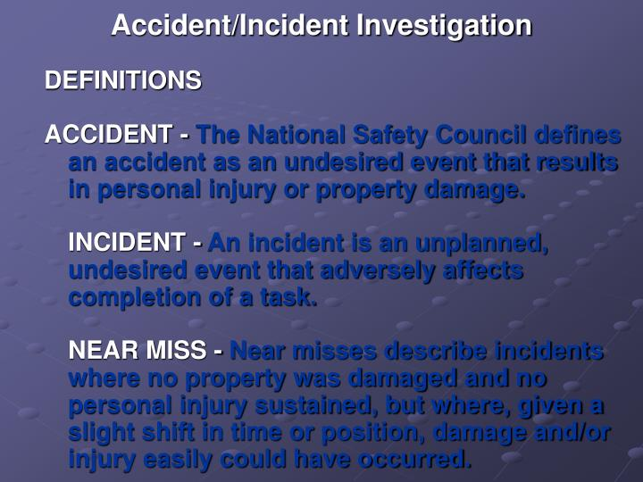 Accident incident investigation3