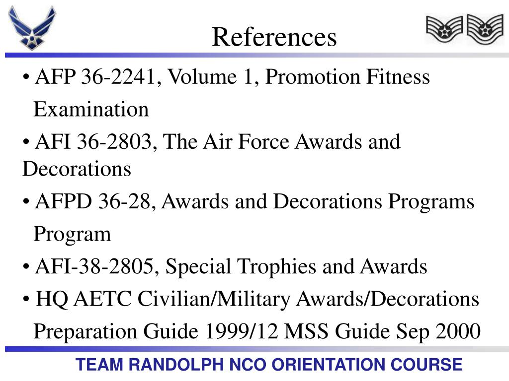 Air force awards and decorations abbreviations for Air force awards and decoration