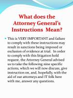 what does the attorney general s instructions mean