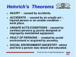 heinrich s theorems