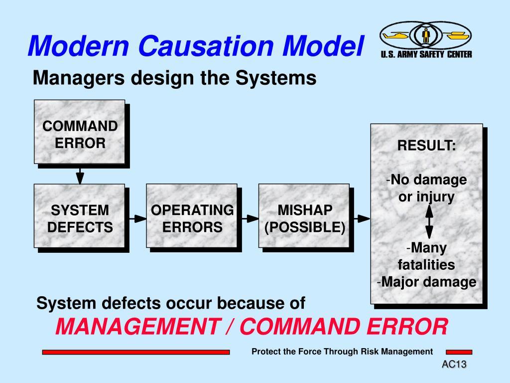 Modern Causation Model