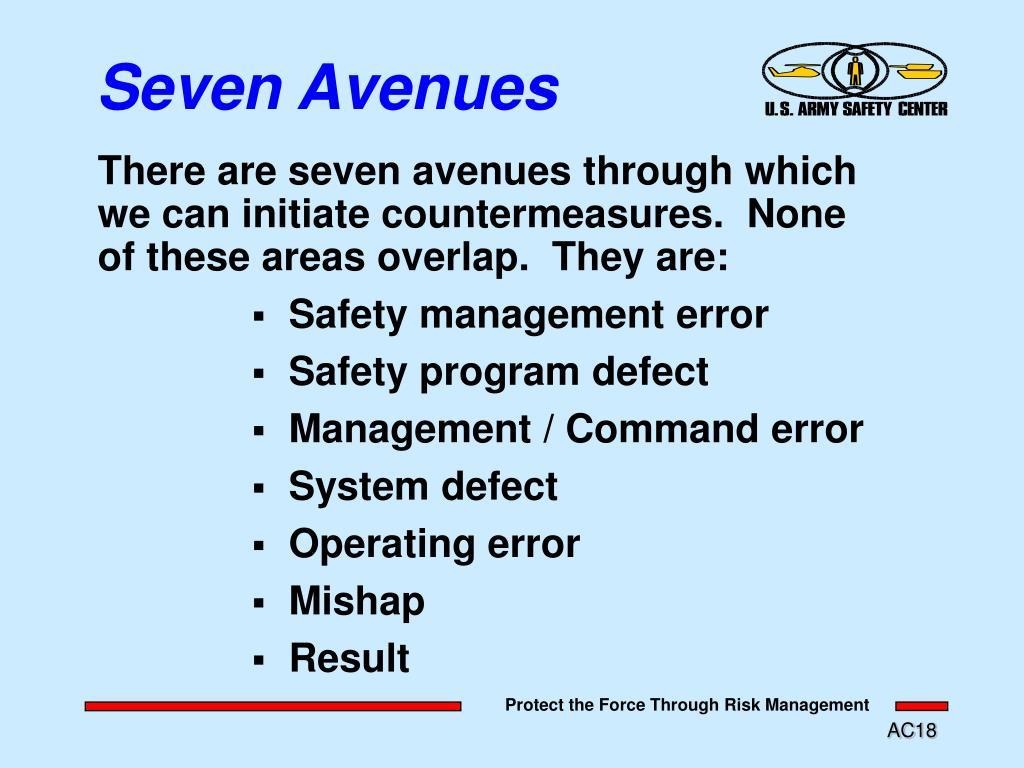 Seven Avenues