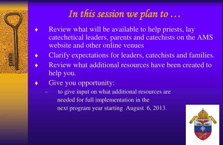 Ppt Forming Disciples For The New Evangelization Archdiocesan