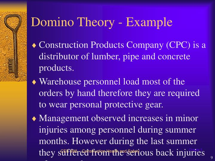 domino theory wwi The domino theory and world war i the domino theory and world war i many history teachers refer to the turbulent situation that.