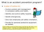 what is an accident prevention program
