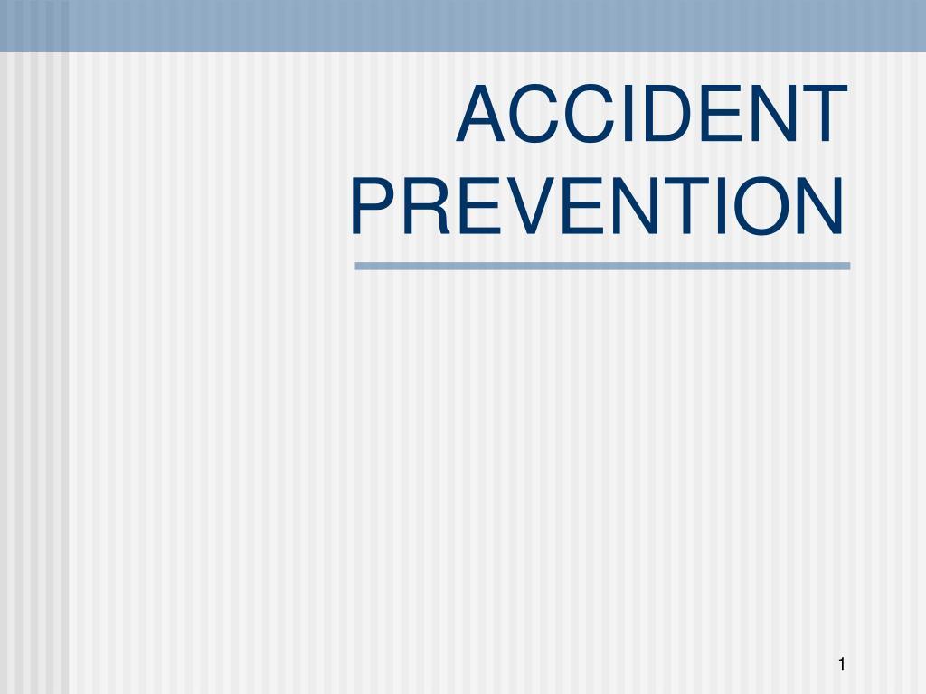 accident prevention l.