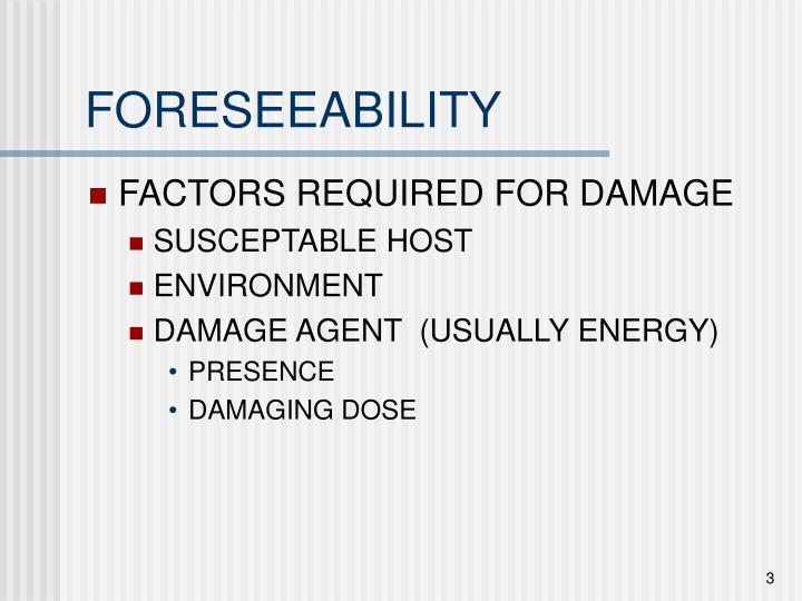 Foreseeability3