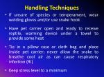handling techniques4