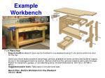 example workbench
