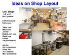 ideas on shop layout21