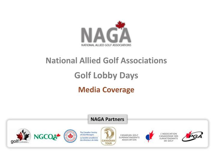 National Allied Golf Associations