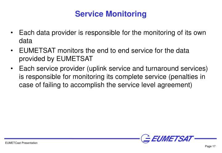 Service Monitoring