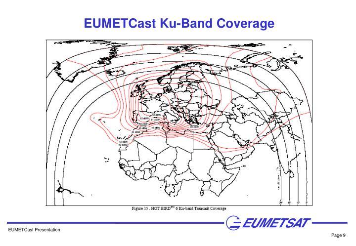 EUMETCast Ku-Band Coverage