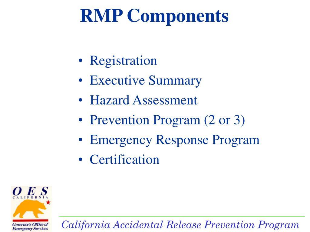 RMP Components