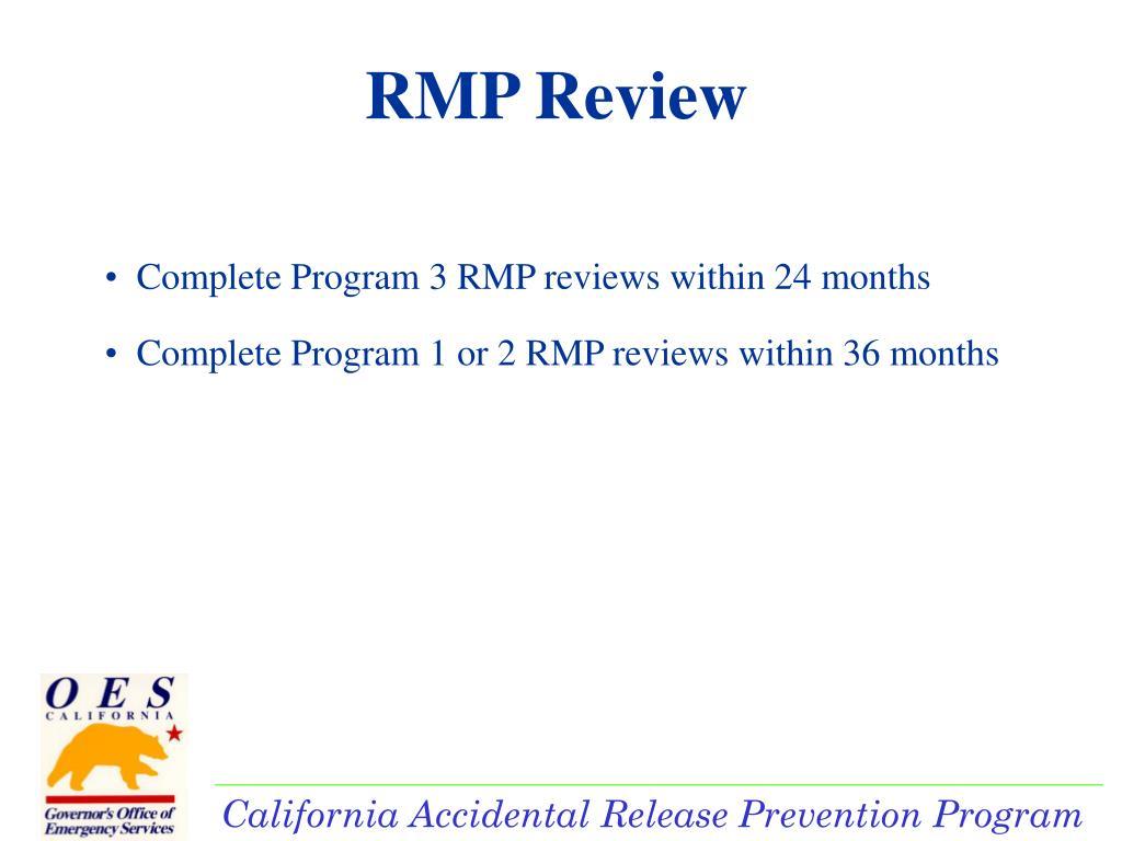 RMP Review