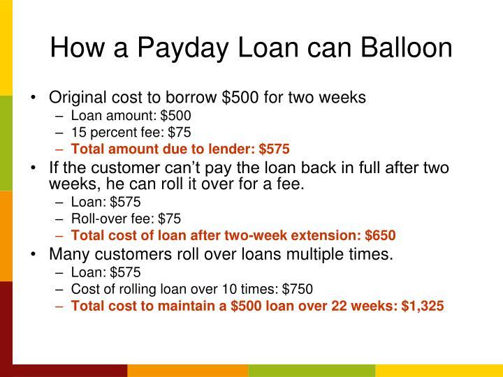 2500.00 payday loan photo 8