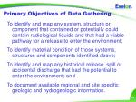 primary objectives of data gathering
