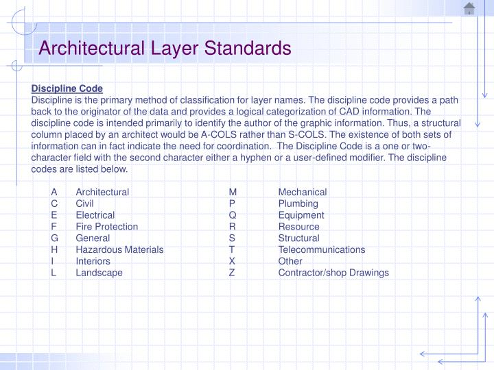 Architectural layer standards3