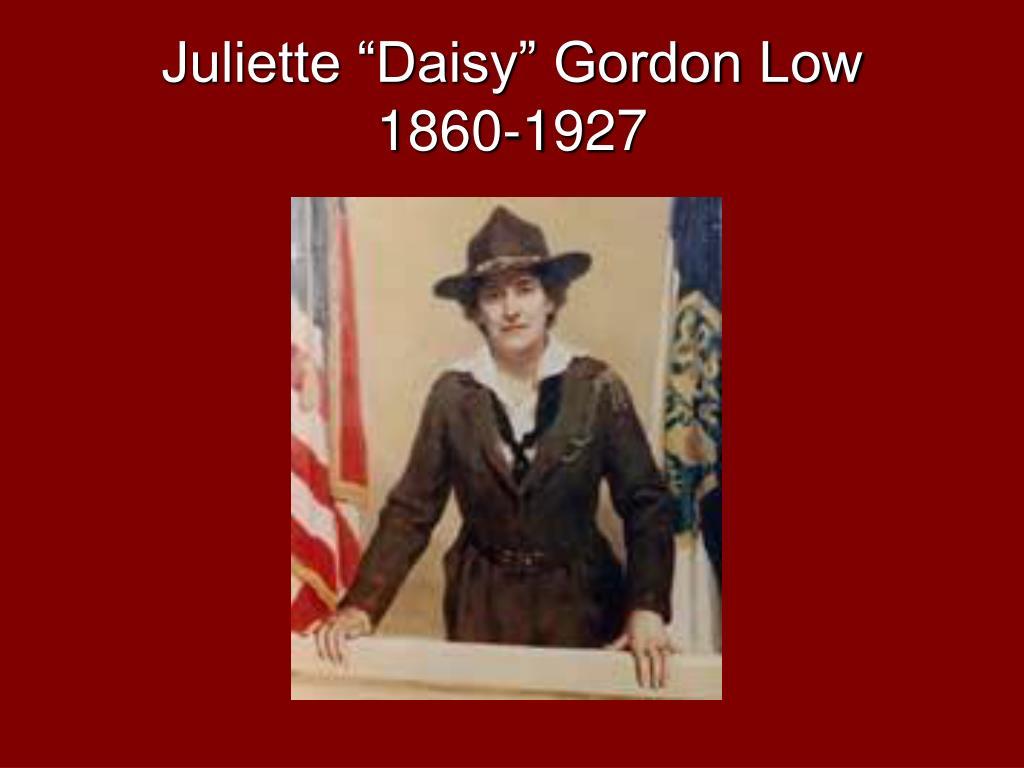 """Juliette """"Daisy"""" Gordon Low"""