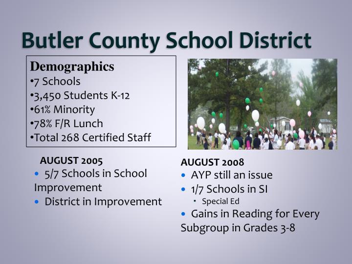 Butler county school district