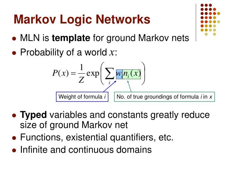 Markov Logic Networks