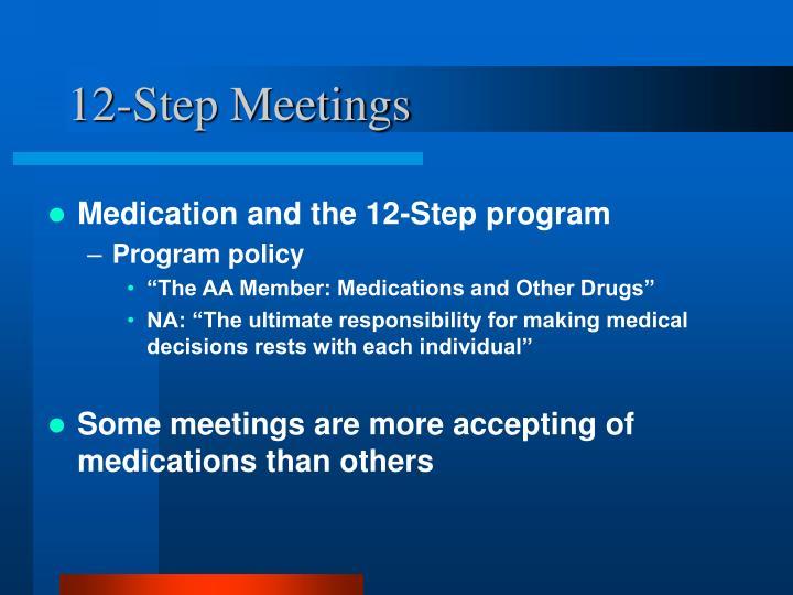 12-Step Meetings