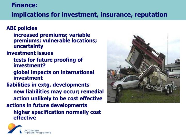 Finance: