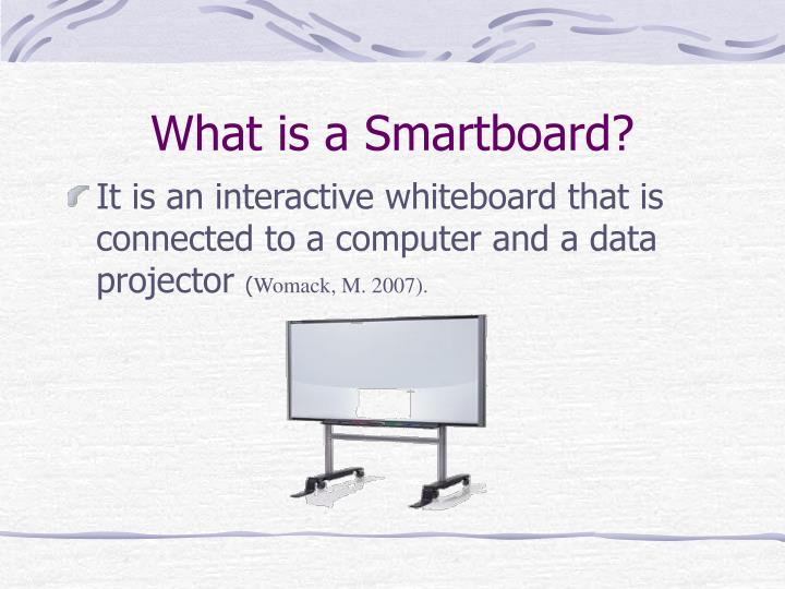 What is a smartboard