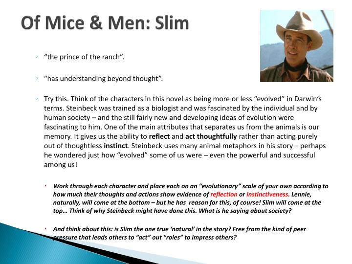 a view on the humanity in of mice and men by john steinbeck Of mice and men john steinbeck buy critical essays major themes bookmark this many critics have compared of mice and men to influences from john milton's.