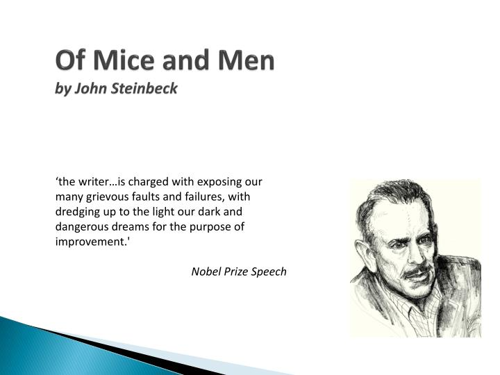 hopes and dreams in steinbecks of mice and men