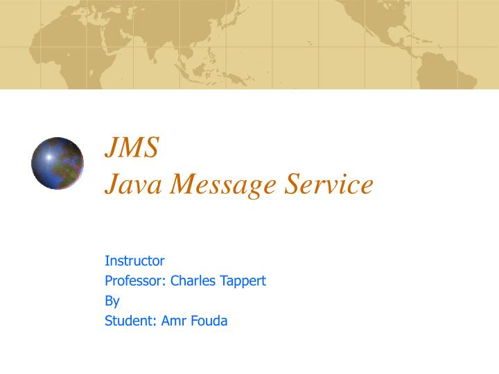 Java/¿ Message Service API Tutorial and Reference Messaging for the J2EE/¿ Platform