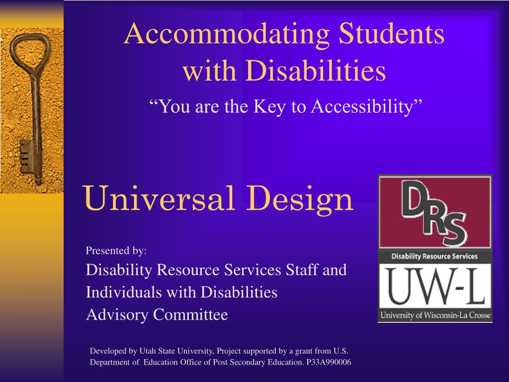 accommodating students with disabilities l.