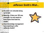 jefferson smith s wish