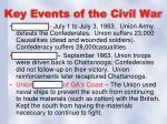 key events of the civil war1