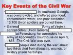 key events of the civil war3