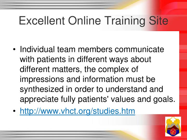 Excellent Online Training Site