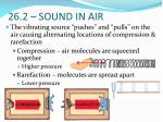 26 2 sound in air