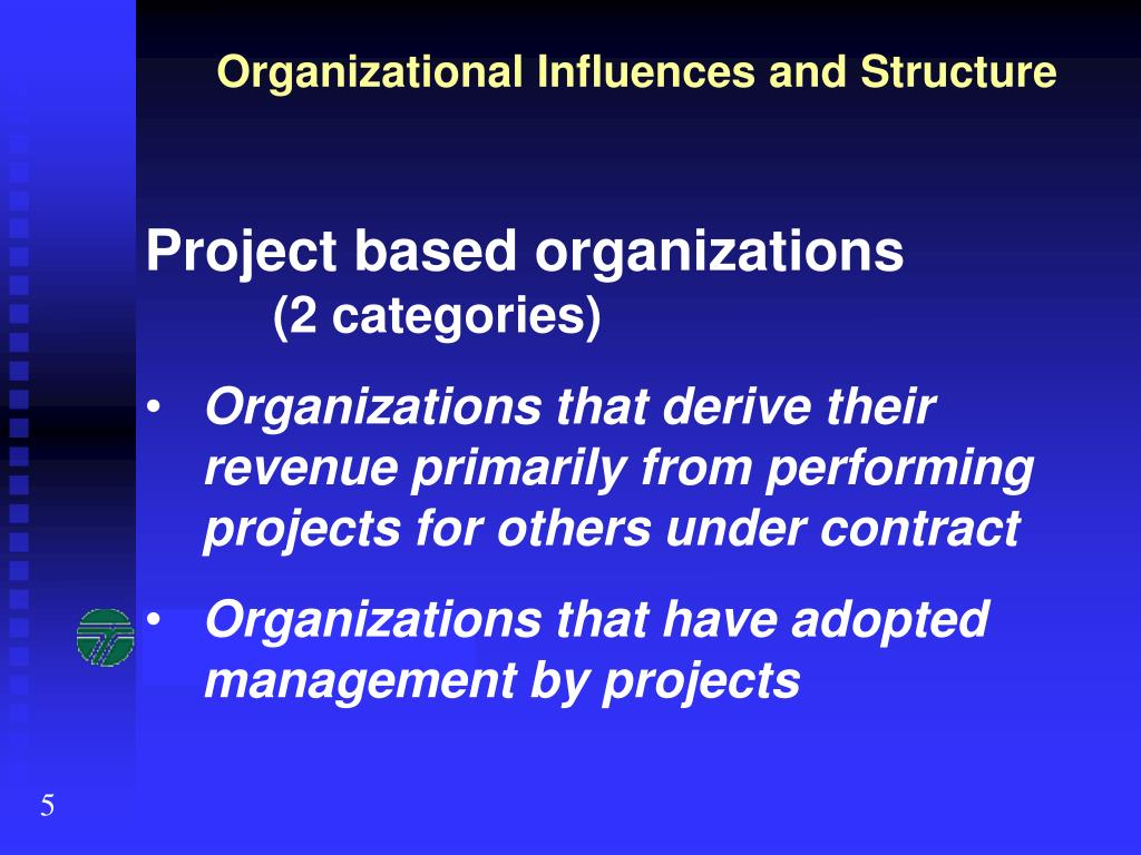 Organizational Influences and Structure