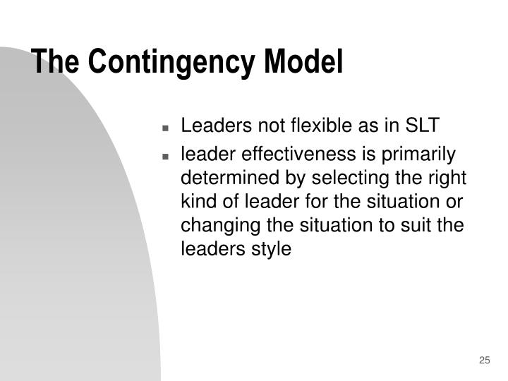 The Contingency Model