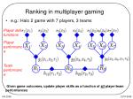 ranking in multiplayer gaming