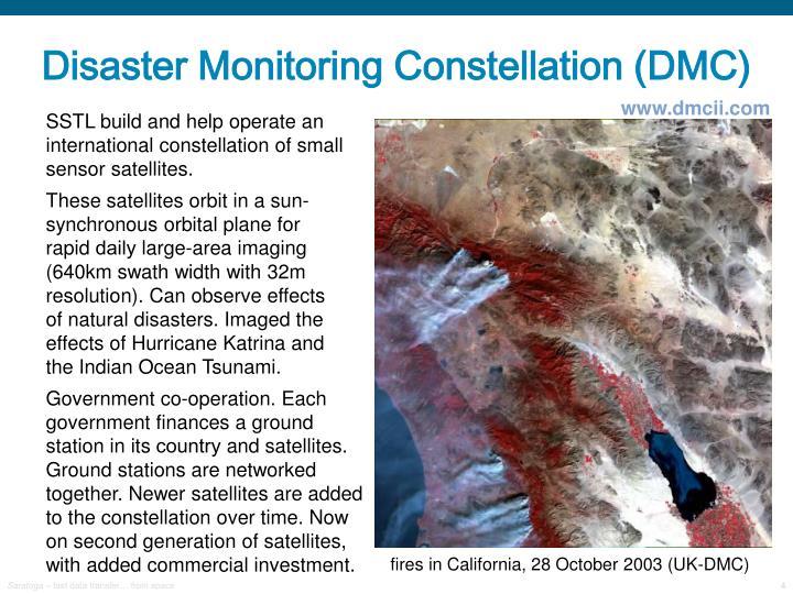 Disaster Monitoring Constellation (DMC)