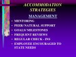 accommodation strategies22