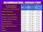 accommodations chicago study