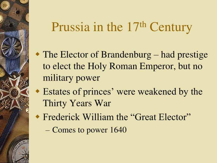 Prussia in the 17
