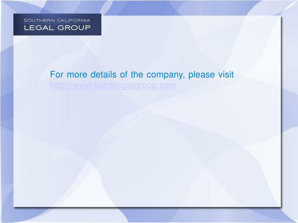For more details of the company, please visit
