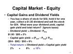 capital market equity1