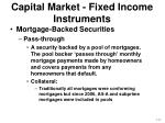 capital market fixed income instruments4
