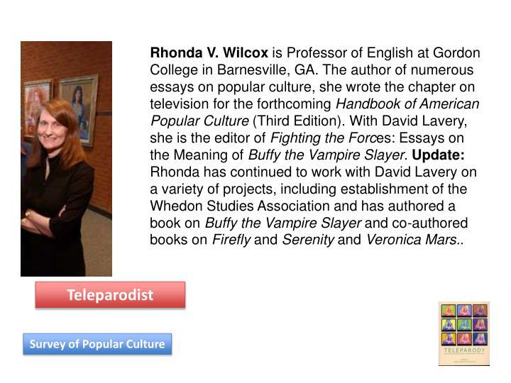 Rhonda V. Wilcox