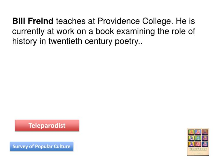 Bill Freind
